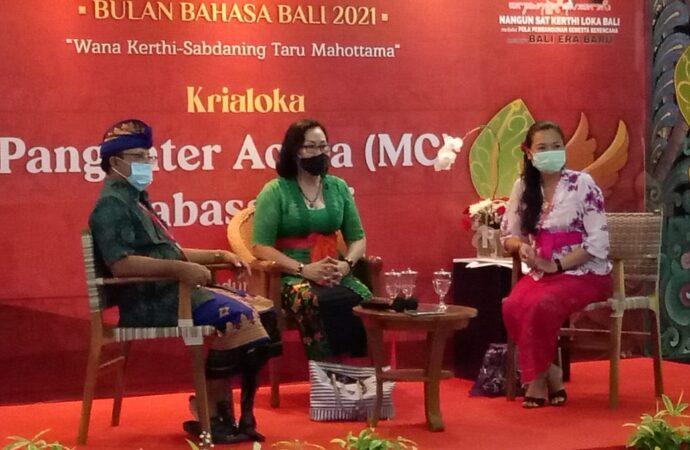 """Generasi Muda Serius Ikuti """"Krialoka Pengenter Acara Mabasa Bali"""""""