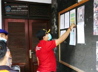 Wabup Kasta Kembali Cek Posko Satgas Desa di Klungkung