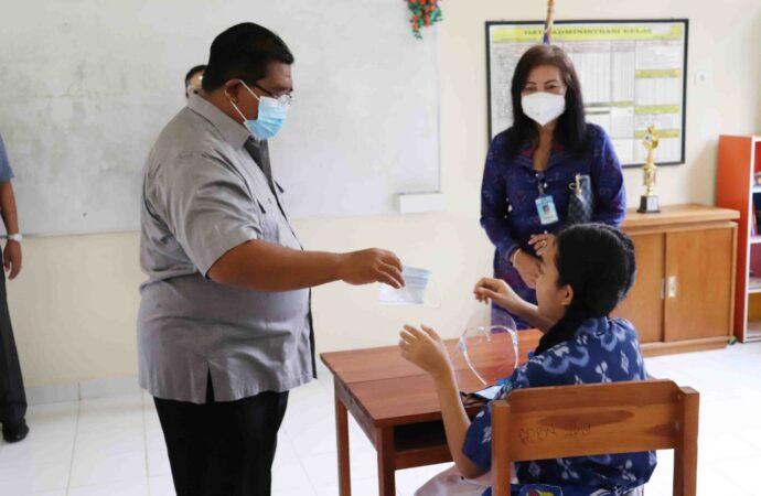 Di Buleleng, Simulasi PTM Berlanjut ke Tingkat SMP