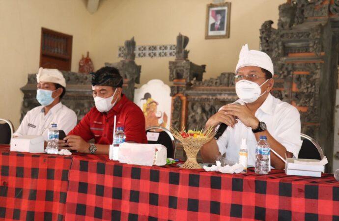 Satgas Gotong Royong dan Relawan Covid-19 Desa di Buleleng Diaktifkan