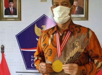 """Medali Emas Pentahelix"" untuk Doni Monardo"