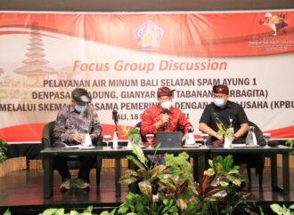 Pemprov Bali Kuatkan Skema KPBU dalam Pelayanan Air Minum Bali Selatan Ayung 1 Sarbagita