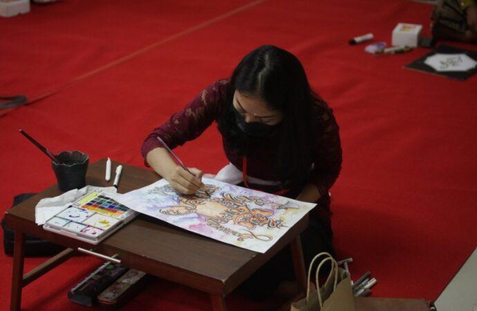 Baligrafi, Paduan Seni Lukis dan Aksara