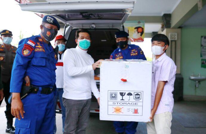 Vaksin Covid-19 sudah Menyeberang ke Nusa Penida