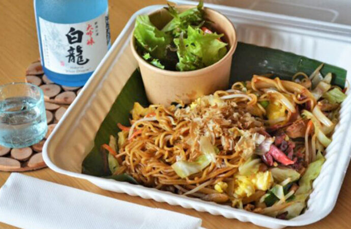 Hotel Nikko Serves Japanese and International Food Delivery