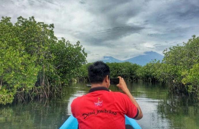 Let's Enjoy Mangrove Tour and Waterspot Aqua Dreamland at Gilimanuk
