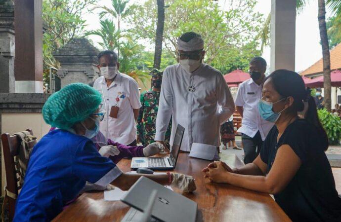 Pemkot Maksimalkan Vaksinasi Menuju Sanur Zona Hijau