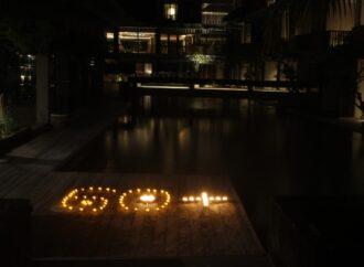 """Earth Hour"" di The Haven Suites Bali Berawa"