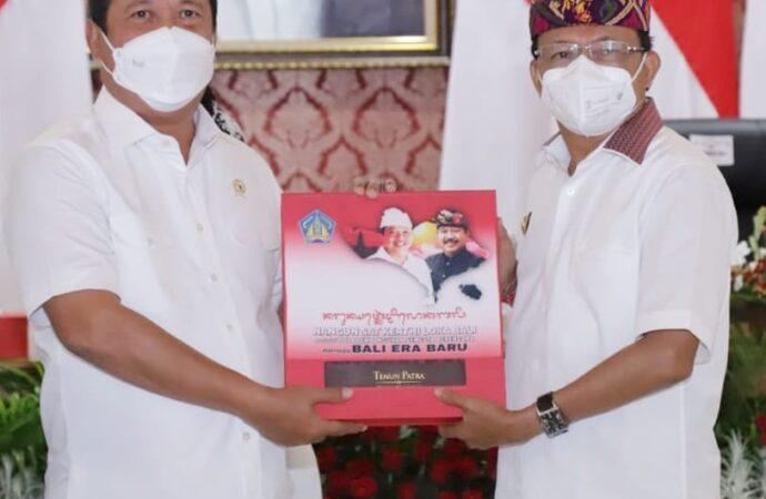 Potensi Kelautan dan Perikanan di Laut Bali Dibahas Gubernur Koster dan Menteri Trenggono
