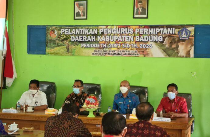 Perhiptani Kabupaten Badung Dilantik