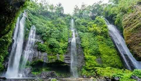 Air Terjun Fiji Menunggu Anda di Lemukih Buleleng