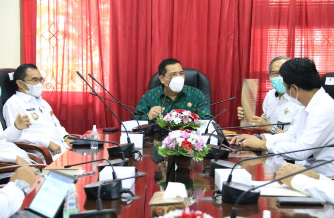 Bupati Sanjaya Terima Exit Meeting Tim Perwakilan BPK RI Bali