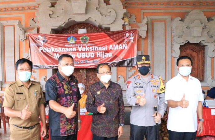 Gubernur Koster Perjuangkan 2.860.116 Penduduk Bali Divaksin Covid-19.139.884 Orang Sudah