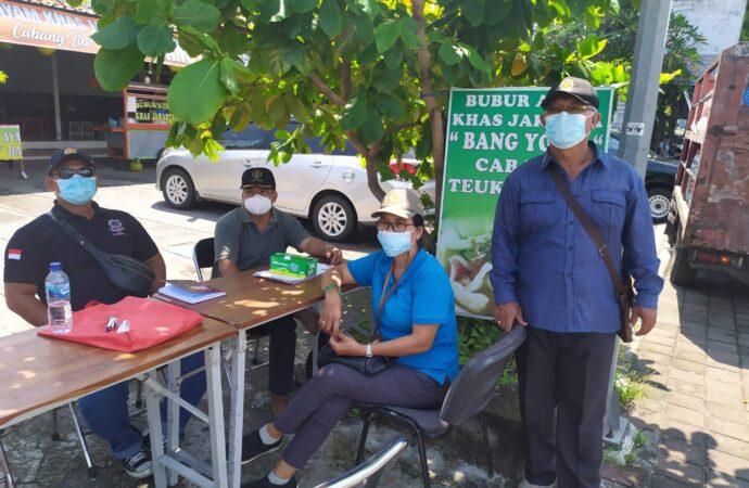 4  Pelanggar Prokes Dijaring Tim Yustisi Kota Denpasar