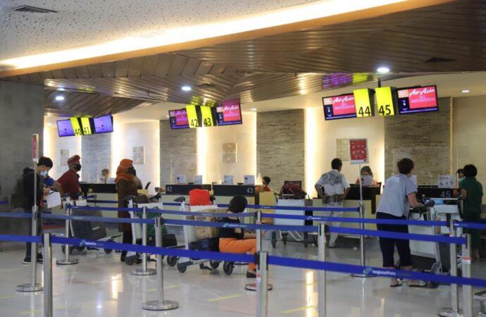 Februari 2021, Bandara Ngurah Rai Layani 157 Ribu Penumpang