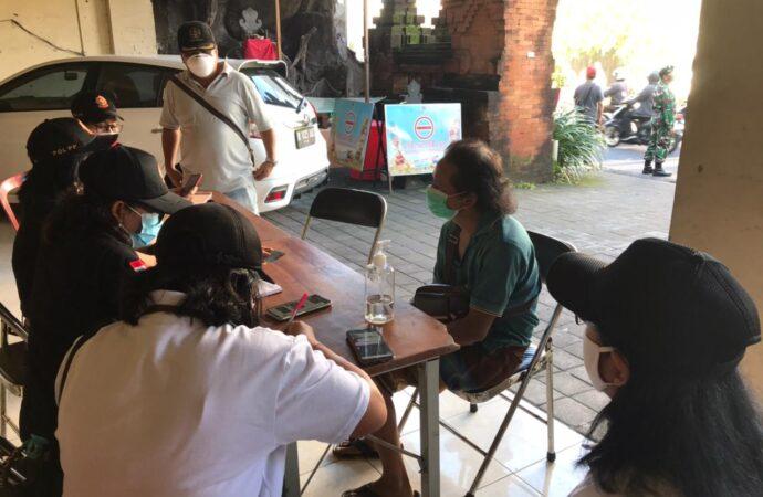 Tim Yustisi Denpasar Jaring 19 Pelanggar Prokes