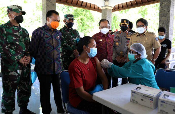 Vaksinasi Tahap I Zona Hijau Tuntas April