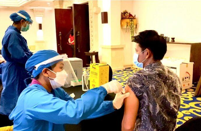 Hotel Nikko Bali Benoa Sediakan Tempat Vaksinasi Covid-19