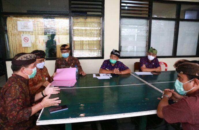 Bupati Suwirta Percepat Program Padat Karya dan WUB