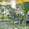 Dome Garden Café Serves Local Menus and Beautiful View
