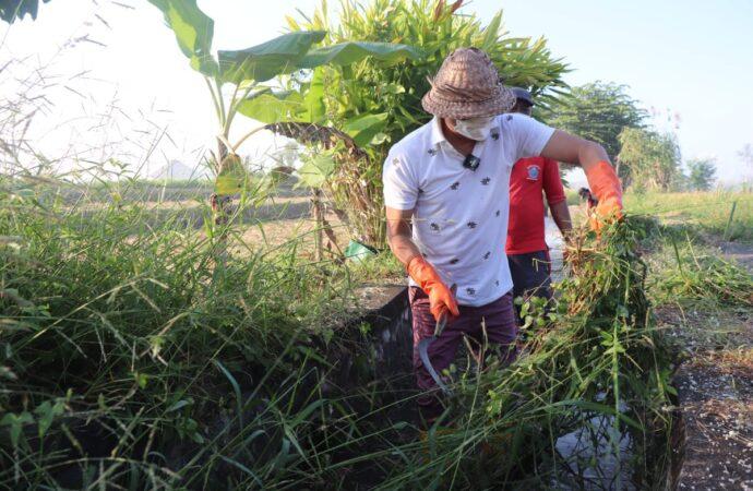 Padat Karya Tunai di Desa Munggu