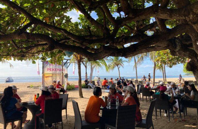 Kulineran di Bali Beach Pekenan