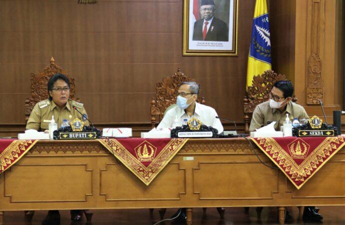 Bupati Giri Prasta Terima Kepala BPK RI Perwakilan Bali