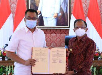 Simak 6 Kesepakatan yang Ditandatangani Gubernur Bali dan Gubernur NTB