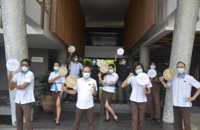 Seluruh Karyawan THE 101 Bali Fontana Seminyak Sudah Divaksin