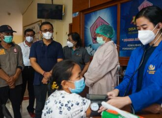Vaksinasi Massal di Kota Denpasar