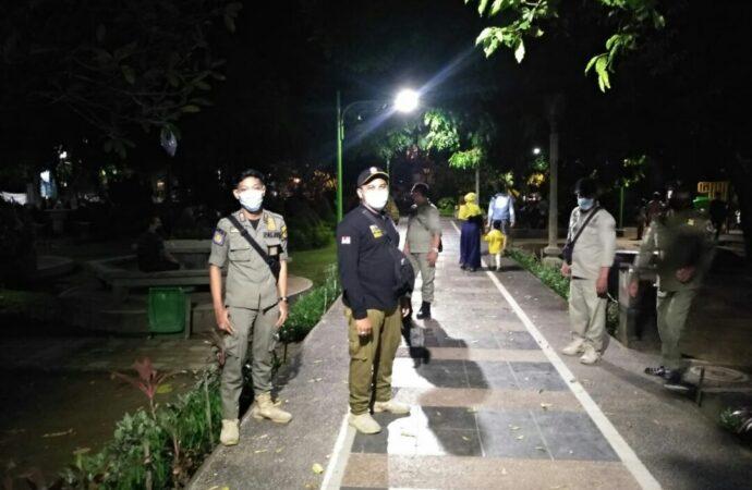 Penertiban Prokes PPKM di Denpasar