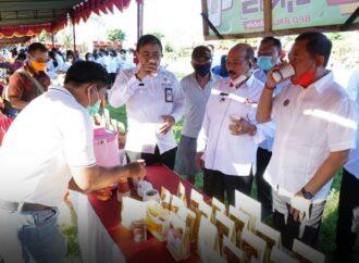 Pemkab Karangasem Gelar Pasar Gotong Royong Krama Bali