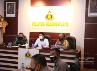 Klungkung Gelar Rapat Koordinasi Pengamanan Idul Fitri 1442 H