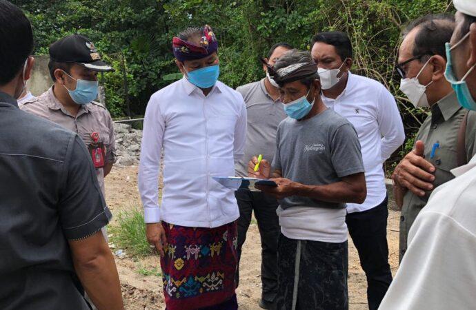 Tanah Pemkab di Kuta Dimanfaatkan untuk Pembangunan Pura Pancung Segara