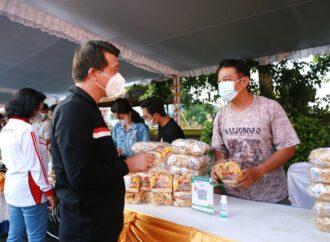 Klungkung Gelar Pasar Gotong Royong