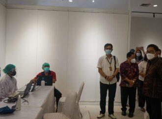 Wawali Arya Wibawa Kembali Tinjau Vaksinasi Massal di Kota Denpasar