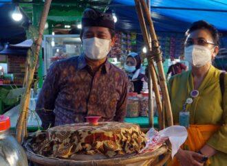 Pedagang Makanan Buka Puasa Disidak