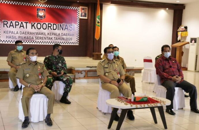 Rakor Arahan Presiden Jokowi saat Hari Raya Galungan Galungan