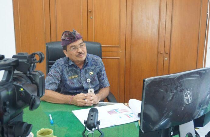Sekda Winastra Berbagi Pengalaman Penerapan KTR di Klungkung