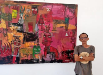 48 Works of Made Kaek on Display at the Jimbaran Hub Art Festival