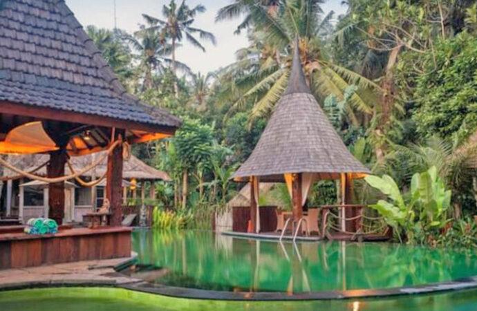 Keramas Sacred River Village Resort, Accommodation with Natural Ambience