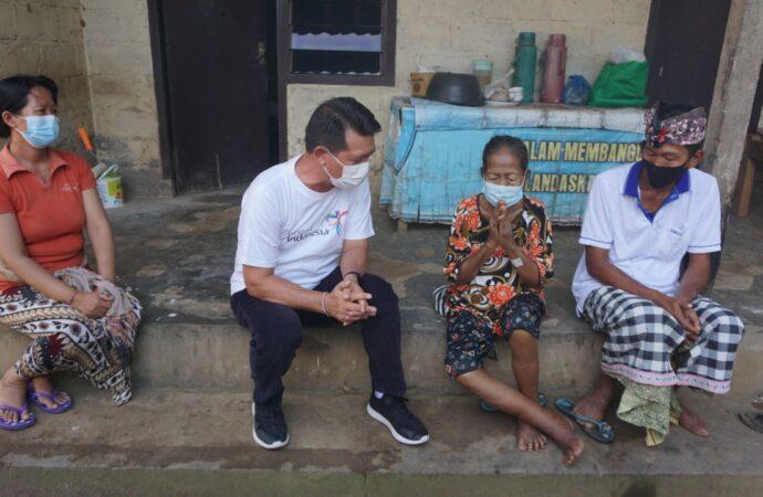 Bantuan untuk  KK Miskin di Klungkung