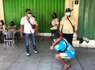 Tim Yustisi Denpasar Gencarkan Penertiban Prokes