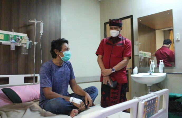 Warga Banjar Samu Diduga Keracunan Daging Babi. Tim Keswan  Turun ke Lapangan