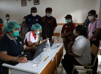Vaksinasi Covid-19  di Kerobokan Kelod Sasar 9.792 Orang, Target Tuntas 5 Hari ke Depan