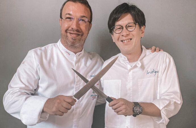 Nikmati 12 Hidangan  Dua Master Chef di Mozaic Restaurant