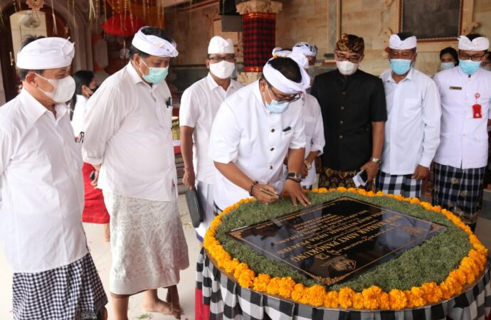 Pujawali dan Melaspas Balai Banjar Adat Pangkung Pejaten