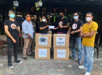 HBI Serahkan Bantuan Korban Bencana NTT