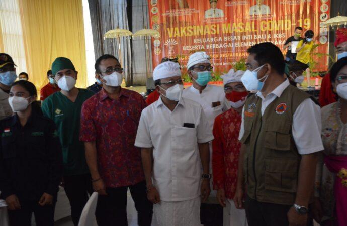 INTI Bali dan IKBS Gelar Vaksinasi Massal