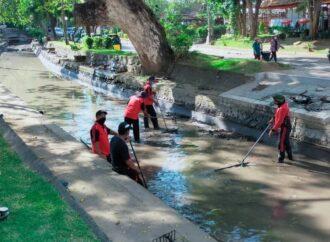 Tim Katak dan Jumali Antisipasi Banjir Saat PKB 2021